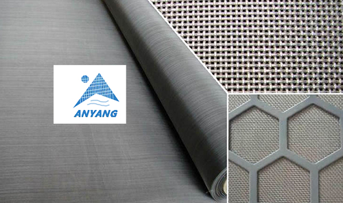 Solid Structure Stainless Steel Woven Wire Mesh Screen
