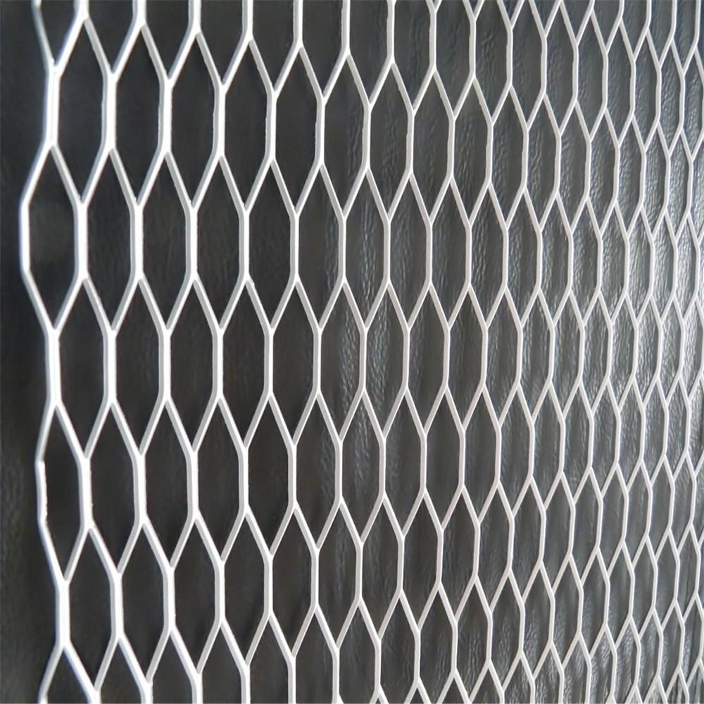 Galvanised Steel Expanded Metal Mesh